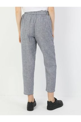 Colin's Regular Fit Orta Bel Düz Paça Kadın Indigo Pantolon 1