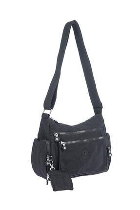 Smart Bags Kadın Siyah Omuz Çantası 1