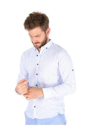 Carlamia Erkek Bengalin Baskılı Gömlek 2