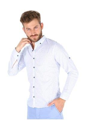 Carlamia Erkek Bengalin Baskılı Gömlek 0