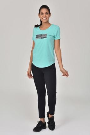 bilcee Turkuaz Kadın T-shirt  GS-8614 2