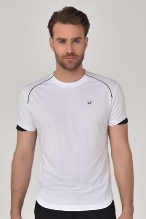 bilcee Beyaz Erkek T-shirt  GS-8821 0