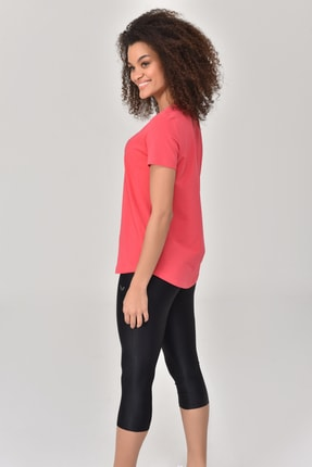 bilcee Pembe Kadın T-Shirt GS-8615 3