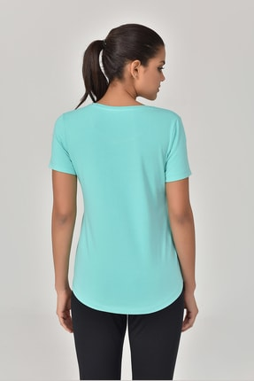 bilcee Turkuaz Kadın T-shirt  GS-8614 1