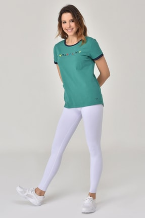 bilcee Yeşil Kadın T-Shirt GS-8070 3