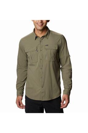 Columbia Erkek Yeşil Cepli Gömlek Ao0762-397 0