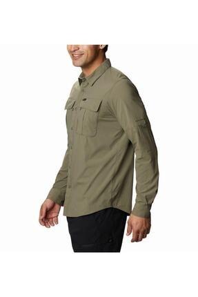 Columbia Erkek Yeşil Cepli Gömlek Ao0762-397 1