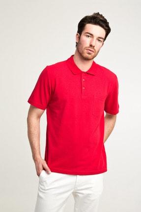 Kiğılı Erkek Kırmızı Düz Kesim Polo Yaka T-Shirt - Cdc01 0
