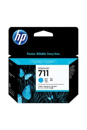 HP CZ134A No 711 Mavi Kartuş 29ML 3'lü Paket 0