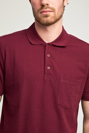 Kiğılı Erkek Bordo Polo Yaka T-Shirt - Cdc01 2