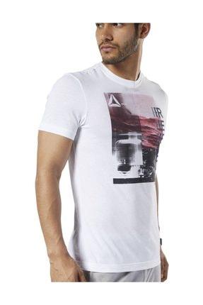 تصویر از Beyaz Erkek Antrenman Tişörtü
