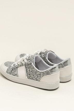 Elle AREAL Gümüş Kadın Ayakkabı 2