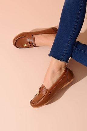 Shoes Time Taba Kadın Babet 20Y 417 2