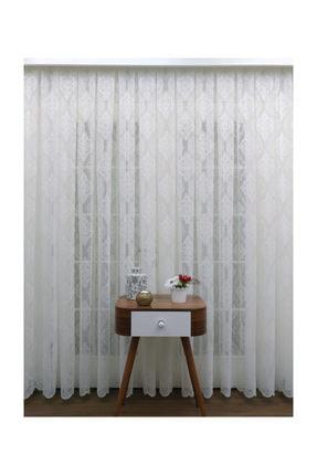 Esse Home Örme Desenli Tül Perde  150x250 cm  Seyrek Pile 1/2 4
