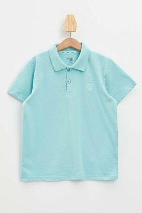 Defacto Erkek Çocuk Polo Yaka Kısa Kollu Tişört 0