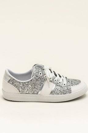 Elle AREAL Gümüş Kadın Ayakkabı 3