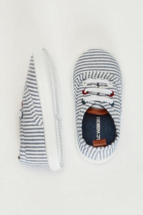LC Waikiki Erkek Bebek Lacivert Çizgili Lgs Sneaker 1