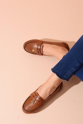 Shoes Time Taba Kadın Babet 20Y 417 0