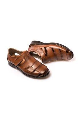 maximoda Erkek Hakiki Deri, Klima Taban, Sandalet 2