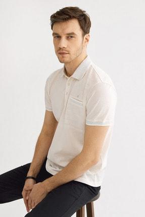 Avva Polo Yaka Düz Cepli T-Shirt 0