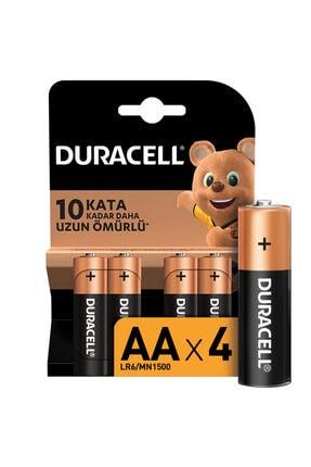 Duracell AA Pil 4'lü 0