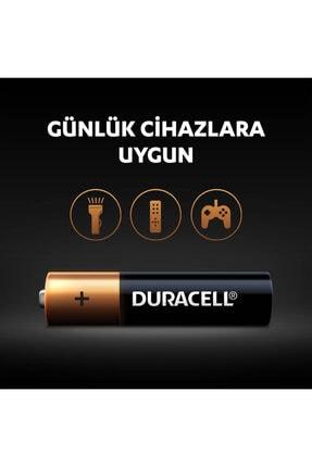 Duracell 4'lü Paket Alkalin Aaa İnce Kalem Pil 3