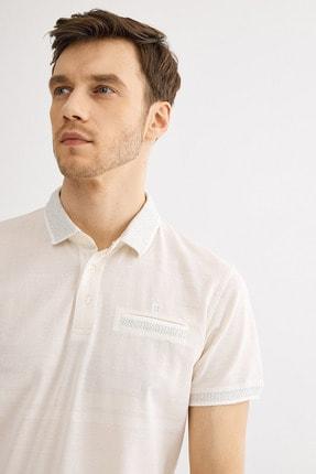 Avva Polo Yaka Düz Cepli T-Shirt 1