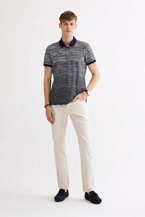 Avva Polo Yaka Jakarlı T-Shirt 3