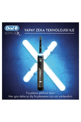 Oral-B Genius x Luxery Edition Anthracite grey Şarj Edilebilir Diş Fırçası 1