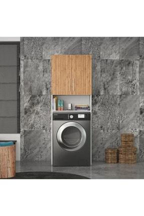 DM MOBİLYA Çamaşır Makinesi Dolabı(banyo Dolabı) 0