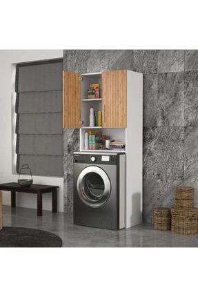 DM MOBİLYA Çamaşır Makinesi Dolabı(banyo Dolabı) 2