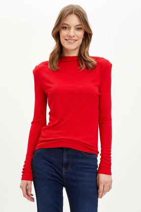 Defacto Regular Fit Uzun Kollu Tişört 1