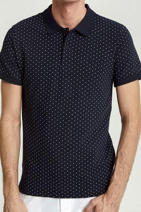 Ltb Erkek  Lacivert Polo Yaka T-Shirt 012208452960890000 1
