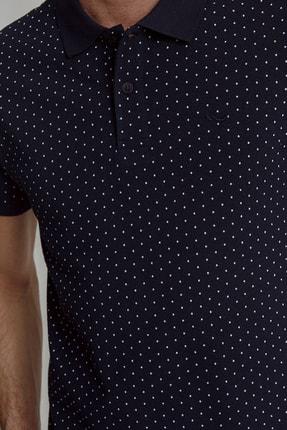 Ltb Erkek  Lacivert Polo Yaka T-Shirt 012208452960890000 2