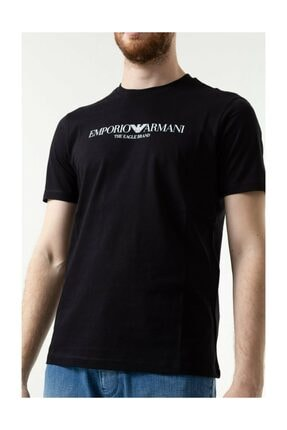 Emporio Armani Erkek Siyah Tshirt 3