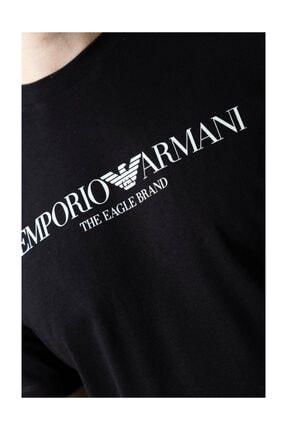Emporio Armani Erkek Siyah Tshirt 4