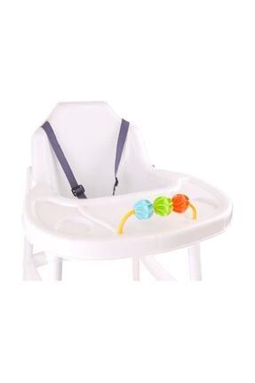 TTDEPO Beyaz Mgs Mama Sandalyesi Smartland Urt 3364 Zrs 3