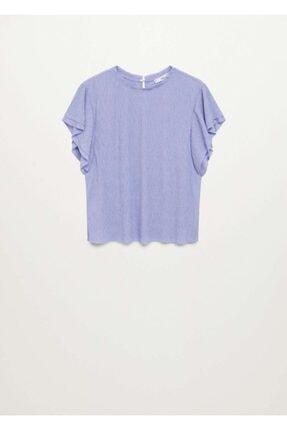 Mango Yarasa Kollu Tişört 2
