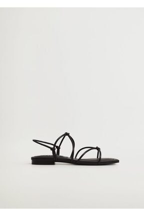 Mango Düğümlü Bantlı Sandalet 1