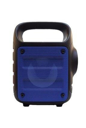 Teknoloji Gelsin Kts1185 Mavi Bluetooth Hoparlör El Feneri Kablosuz Speaker Taşınabilir Ses Bombası Askılı 1
