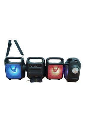 Teknoloji Gelsin Kts1185 Mavi Bluetooth Hoparlör El Feneri Kablosuz Speaker Taşınabilir Ses Bombası Askılı 4