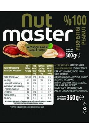 Nut Master Yer Fıstığı Ezmesi %100 3 Kg 1