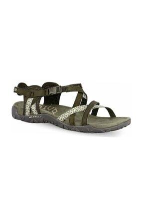 Merrell Kadın Yeşil Terran Lattıce Iı Sandalet J98756 0
