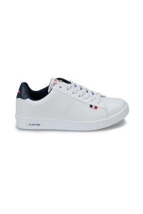US Polo Assn FRANCO Beyaz Kadın Sneaker 100249587 1