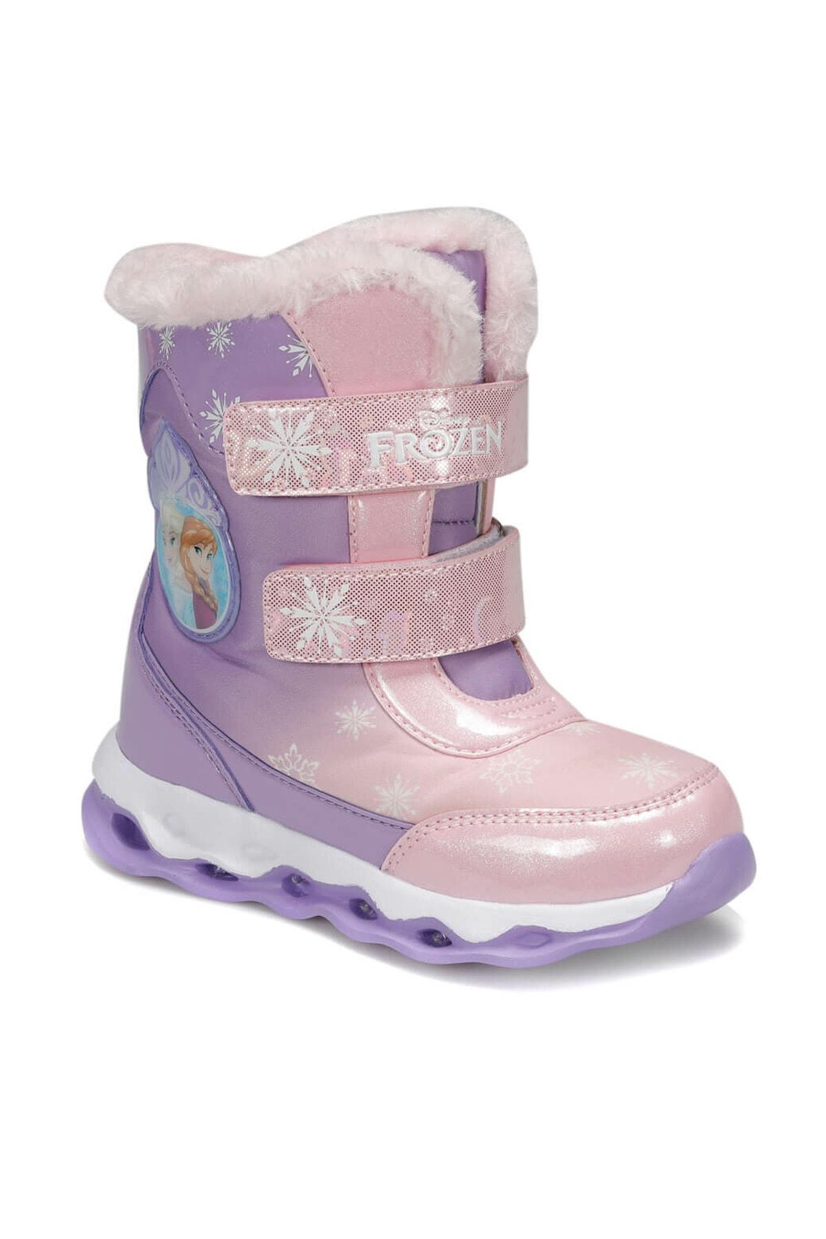 Frozen 92.OLY.P Mor Kız Çocuk Kar Botu 100406178 0