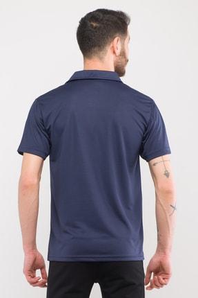 Slazenger Troop Erkek T-shirt Lacivert St10te140 3