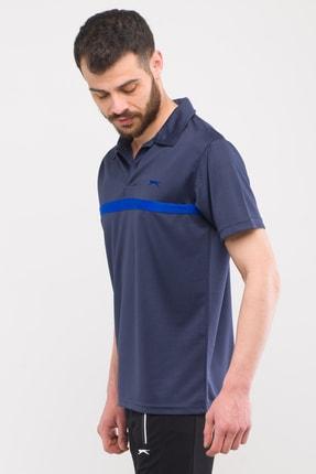 Slazenger Troop Erkek T-shirt Lacivert St10te140 2