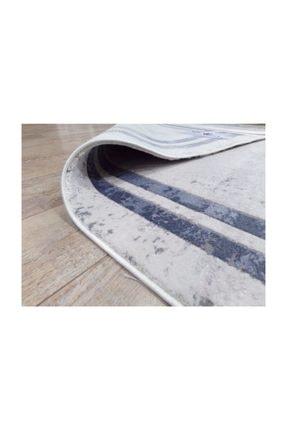 Balat Halı Mavi Çerçeveli Taşlama  Oturma Odası Ve Salon Halısı-200x290 3