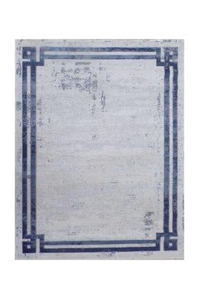 Balat Halı Mavi Çerçeveli Taşlama  Oturma Odası Ve Salon Halısı-200x290 2