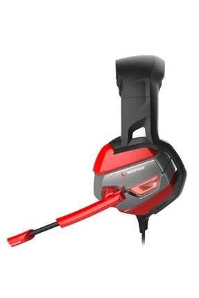Rampage RM-K5 Noble 7.1 Surround Sound System USB Mikrofonlu Oyuncu Kulaklığı Siyah/Kırmızı 1